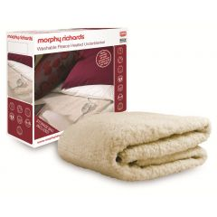 Morphy Richards 75181 Washable Heated Underblanket Double With Dual Control