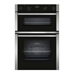 Neff U1ACE2HN0B Built In Electric Multifunction Double Oven Stainless Steel