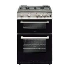 New World DF600MD 60Cm D/Oven Lidded Silver D/Fuel