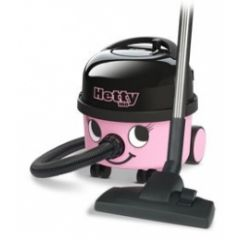 Numatic HET160-11 Pink Hetty Cylinder Vacuum Cleaner