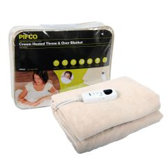 Pifco PE151 Single Heated Throw And Over Blanket