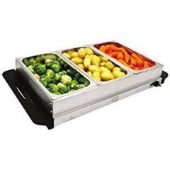 Quest 16520 Compact Buffet Server + Warming Tray 200 Watt
