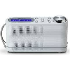 Roberts Radio PLAY10 WHITE Dab/Dab+/Fm RDS Digital Portable Radio