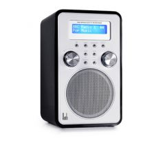 Roth DBT001 black Retro Vertical DAB Radio