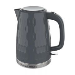 Russell Hobbs 26053 17L Grey Honeycomb Textured Kettle
