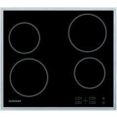 Samsung C61R1AAMST 60Cm Ceramic Hob With S/Steel Trim