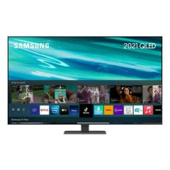 Samsung QE65Q80AATXXU 65` 4K Qled Smart TV Quantum Hdr 1500 Powered By Hdr10+ With Object Tracking S