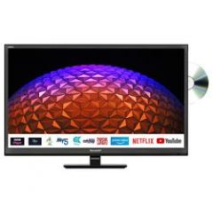 SHARP 1TC24BE0KR1FB GRADED 24` Smart HD Ready Led TV With Built-In DVD Player