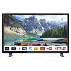 SHARP 1TC32BC2KO1FB GRADED 32` HD Ready Led Smart TV Netflix Freeview HD Freeview Play Saorview Sate