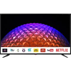 SHARP 4T-C55BJ2KO2FB GRADED 55` 4K Uhd Led Smart TV, Netflix, Prime, Freeview HD + Play