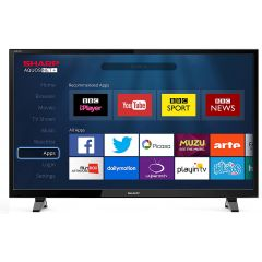 SHARP LC48CFF6001K GRADED 48` Fhd 1080P Led Smart TV Freeview HD USB Record
