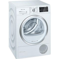Siemens WT45W492GB 9Kg Heat Pump Tumble Dryer - White - A++ Rated