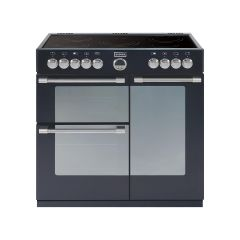 Stoves 444440466 Sterling 900E Electric Range Cooker Black