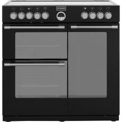 Stoves 900E 900 Cm Electric Range Cooker Black