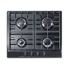 Stoves G600C BLK 60Cm Black Gas Hob With Cast Supports