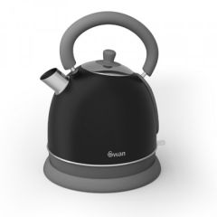 Swan SK261020BN 1.8 Litre Retro Dome Kettle - Black