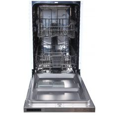 Teknix TBD455 9 Place Slimline Intergrated Dishwaher, A++ Rated, 5 Programme