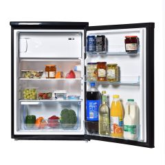 Teknix UC55R1B 55Cm 3.0/0.5Cuft U/Counter Fridge With 4* Box Black