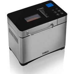 Tower T11002 Gluten Free Digital Bread Maker With Nut Dispenser