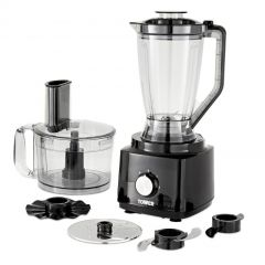 Tower T18007BLK 750W Food Processor And Blender With 2L Mixing Bowl