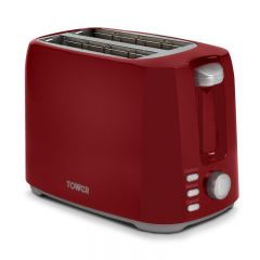 Tower T20013R Elements 2 Slice Toaster Red