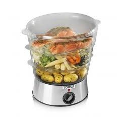 Tower T21001 3 Tier Electric Steamer