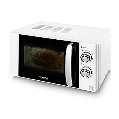 Tower T24009W White 800W Microwave