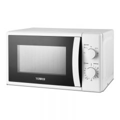 Tower T24034WHT 700W 20L White Microwave Oven