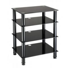 TTAP AVS-C303R Hifi 4 Shelf Glass Stand Clear