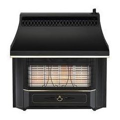 Valor 05347A1 Black Beauty Radiant Gas Fire 4kw