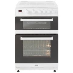 Valor V60GTCLM 60Cm Twin Cavity Glass Lidded Gas Cooker