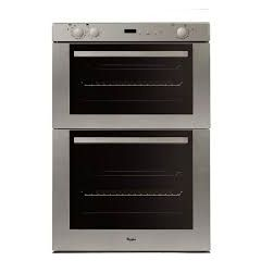 Whirlpool AKP801-01 70Cm B/Under D/Oven S/S