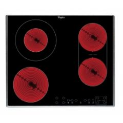 Whirlpool AKT8700IX S/Steel Trim, Touch Controls, Built-In Ceramic Hob
