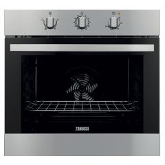 Zanussi ZOB31301XK Built In S/Steel Single Oven