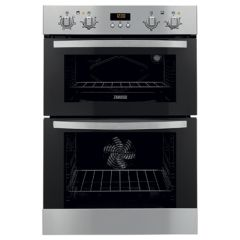 Zanussi ZOD55512XA Built In S/Steel Double Oven