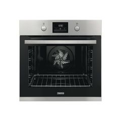 Zanussi ZOP37982XK Stainless Steel Single Oven With Pyro Clean